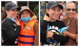 Bị chụp lén cười tươi rói khi đi cứu trợ miền Trung, Phi Nhung giải thích cực thuyết phục