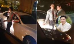 Sự thật về clip Trọng Hưng va chạm giao thông, trong xe chở một cô gái hậu ly hôn Âu Hà My
