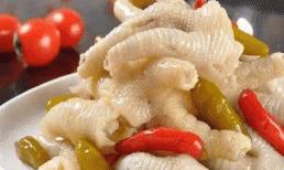 Đầu bếp hướng dẫn bạn cách làm chân gà ngâm ớt không chất bảo quản, cực ngon
