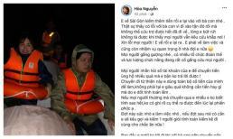Hòa Minzy tiết lộ lý do bỏ tiền túi toàn bộ cho chuyến cứu trợ miền Trung
