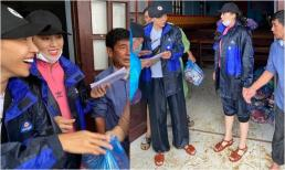 Bị nước làm hư hỏng 1500 phần quà cứu trợ miền Trung, Kỳ Duyên phải tức tốc bỏ tiền túi mua lại