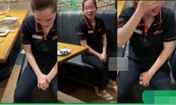 Khách ăn xong 'chuồn lẹ', nữ nhân viên khóc nức nở khi phải đền hơn 5 triệu đồng