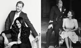 Bắt chước Nữ hoàng Anh trong bức hình mới nhất, Meghan Markle bị chê bai 'tả tơi'