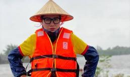 Trang Trần tức tối khi 2 tấn hàng cứu trợ miền Trung có nguy cơ bị ăn chặn