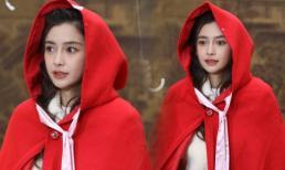 Angelababy leo Top Weibo khi hóa 'Cô bé quàng khăn đỏ': Da trắng ngần, môi đỏ mọng xinh như công chúa