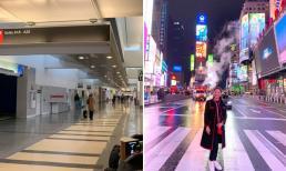 Thanh Thảo đăng ảnh chụp tại thiên đường du lịch ở Mỹ, khung cảnh đằng sau vắng tanh do ảnh hưởng của dịch Covid-19