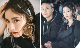 Dương Mịch đeo khuyên tai siêu to khổng lồ, 'dính như sam' với tình cũ của Angelababy