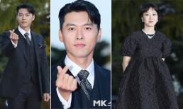 Thảm đỏ hot nhất hôm nay: Hyun Bin sáng bừng với visual cực phẩm, Gong Hyo Jin mặc đồ già sọm