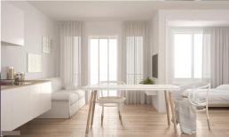 Làm thế nào để trang trí căn hộ nhỏ 60m2 trở nên rộng hơn trong vài giây?