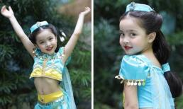 Con gái 4 tuổi nhà 'Mỹ nhân đẹp nhất Philiipines' gây sốt khi hóa thân thành công chúa Jasmine