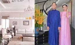 Tăng Thanh Hà đăng ảnh chào buổi sáng, hé lộ thêm góc sang chảnh trong biệt thự