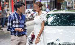 Xấu hổ khi nhìn thấy bạn gái cũ bước xuống từ xe BMW, chàng trai định 'đánh bài chuồn' ai ngờ bị bạn thân làm cho 'muối mặt'