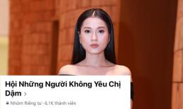 Sau Hương Giang, đến lượt Lâm Vỹ Dạ có group anti-fan riêng với số lượng thành viên tăng chóng mặt