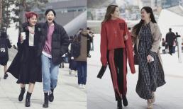 Chụp đường phố thời trang Hàn Quốc mùa thu, rả rích những phong cách thời trang cá tính và năng động