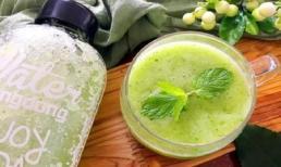 Công thức làm sinh tố uống vào buổi tối, nó có thể làm đẹp da, giảm cân, giảm mỡ máu và huyết áp, uống thường xuyên rất tốt cho sức khỏe!
