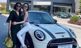 Hot girl Trâm Anh tậu xe tiền tỉ, hé lộ 'nhà tài trợ kim cương'