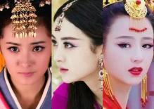 Các nữ diễn viên mặc đồ tua rua trong phim cổ trang, Dương Mịch dịu dàng, Triệu Lệ Dĩnh tinh nghịch, Đồng Lệ Á đẹp đến nao lòng