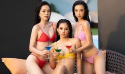 Top 3 Hoa Hậu Việt Nam 2018 khoe hình thể nóng bỏng trước ngày kết thúc nhiệm kỳ