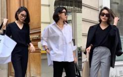 Cách phối trang phục đen trắng Hàn Quốc, vừa thời thượng vừa ngọt ngào! Người cao hay thấp đều có thể mặc đẹp