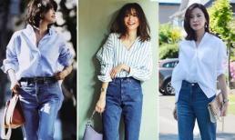 Làm thế nào để mặc đẹp hơn với quần jean trong mùa thu đông? Tham khảo những ý tưởng ăn mặc đẹp của các blogger thời trang