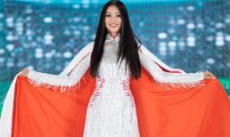 BST áo dài bóng đá của NTK Ngô Nhật Huy được khen ngợi tại chung kết Hoa hậu Việt Nam 2020