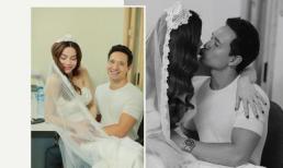 Lộ hậu trường ảnh cưới của Kim Lý và Hà Hồ: Ngọt ngào đến mức nhìn đã muốn tua gấp đến ngày trọng đại