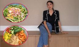 Những món salad giúp giảm cân, giữ dáng được 'Ngọc nữ' Tăng Thanh Hà yêu thích