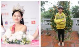 Dân mạng tung ảnh năm 12 tuổi của Tân Hoa hậu Đỗ Thị Hà, màn dậy thì thật sự thành công