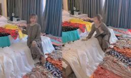 Vợ sắp đi du lịch, chồng mua cả trăm chiếc váy mới để tặng