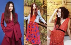 'Phan Kim Liên' Ôn Bích Hà hơn 50 tuổi vẫn mặc màu đỏ đẹp ngon ơ và đầy quyến rũ