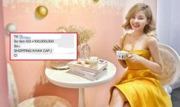 Than buồn, hot girl Trâm Anh được bạn trai chuyển thẳng 100 triệu với lời nhắn 'shopping khẩn cấp'