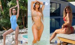 'Cuộc chiến bikini' - từ Kim và Kylie cho đến Selena Gomez, ảnh 'khoe bạo' của sao nữ nào được nhiều like nhất?