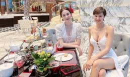 'Đọ' dáng bên Mai Ngọc, MC Phương Mai chiếm trọn spotlight vì vòng một căng đầy