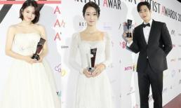 Thảm đỏ AAA 2020: Dàn siêu sao Kbiz đổ bộ, nổi nhất là 'Điên nữ' Seo Ye Ji