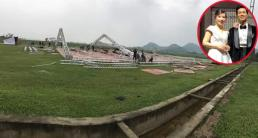Đám cưới Công Phượng ở Nghệ An: Nhà trai dựng rạp trước 1 tuần để chuẩn bị cho ngày vui