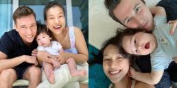 Á hậu Hoàng Oanh khoe loạt ảnh đáng yêu, kháu khỉnh của bé Max và khung hình cả nhà bên nhau hạnh phúc