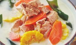 Trời lạnh nấu món canh này cho cả gia đình, vừa thanh nhẹ, ngon miệng lại bồi bổ dạ dày, bổ sung canxi