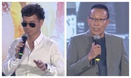 NSƯT Xuân Bắc bị chỉ trích vì đeo kính đen dẫn chương trình, MC Lại Văn Sâm đỡ lời cực khéo