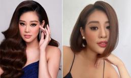 Hoa hậu Hoàn Vũ Việt Nam Khánh Vân 'lột xác' khi cắt tóc ngắn