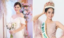 Chia sẻ sau đám cưới, Á hậu Tường San nhận được lời chúc của Hoa hậu Quốc tế 2019