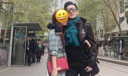 Ca sĩ Quang Hà úp mở ảnh chụp cùng bạn gái, mừng rỡ khi gặp lại sau 1 năm xa cách vì dịch Covid-19