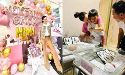Hồ Ngọc Hà lên tiếng chuyện đi làm dù mới sinh 1 tháng: 'Nghỉ thêm chắc trầm cảm'
