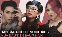 Dàn sao nhí The Voice Kids mùa đầu tiên sau 7 năm: Dàn giải phụ đè bẹp quán quân