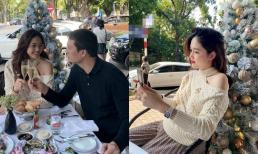 Á hậu Thanh Tú tình tứ bên chồng đại gia kỉ niệm 2 năm ngày cưới