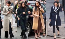 Chê gì thì chê chứ riêng khoản diện áo khoác dáng dài, Meghan Markle chính là 'cao thủ' xứng đáng để chị em học tập