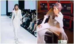 Minh Tú chán làm người mẫu, chuyển hướng sang nghề bán 'muối'?