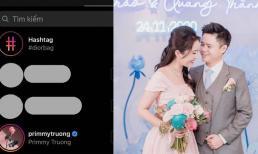 Sắp cưới nhưng thiếu gia Phan Thành vẫn 'bẽn lẽn' như lúc mới yêu, đến giờ mới follow Primmy Trương