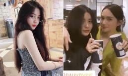 Hoa hậu Hương Giang đăng ảnh 'cụm cốc' với đàn em, dân mạng nhanh chóng tìm ra danh tính gái xinh