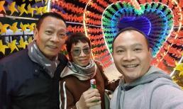 Con trai Lại Văn Sâm đăng ảnh hiếm bên bố mẹ, 2 phụ huynh được khen giống nhau