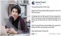 Quang Trung chia sẻ về 'căn bệnh nguy hiểm' nhưng netizen lại phản ứng khó đỡ